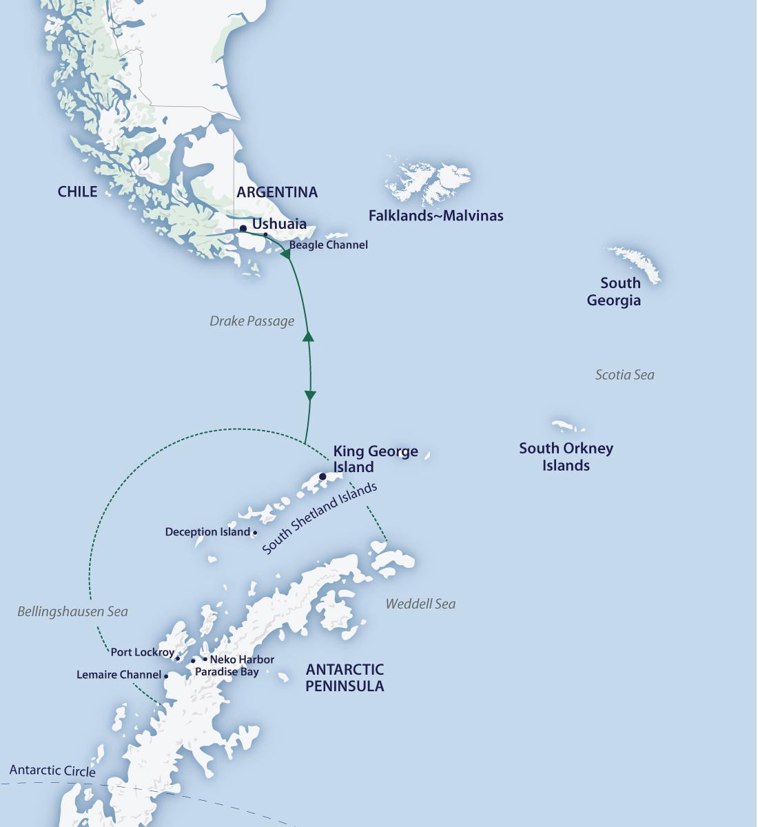 Antarctic Circle Expedition | Aurora Expeditions™